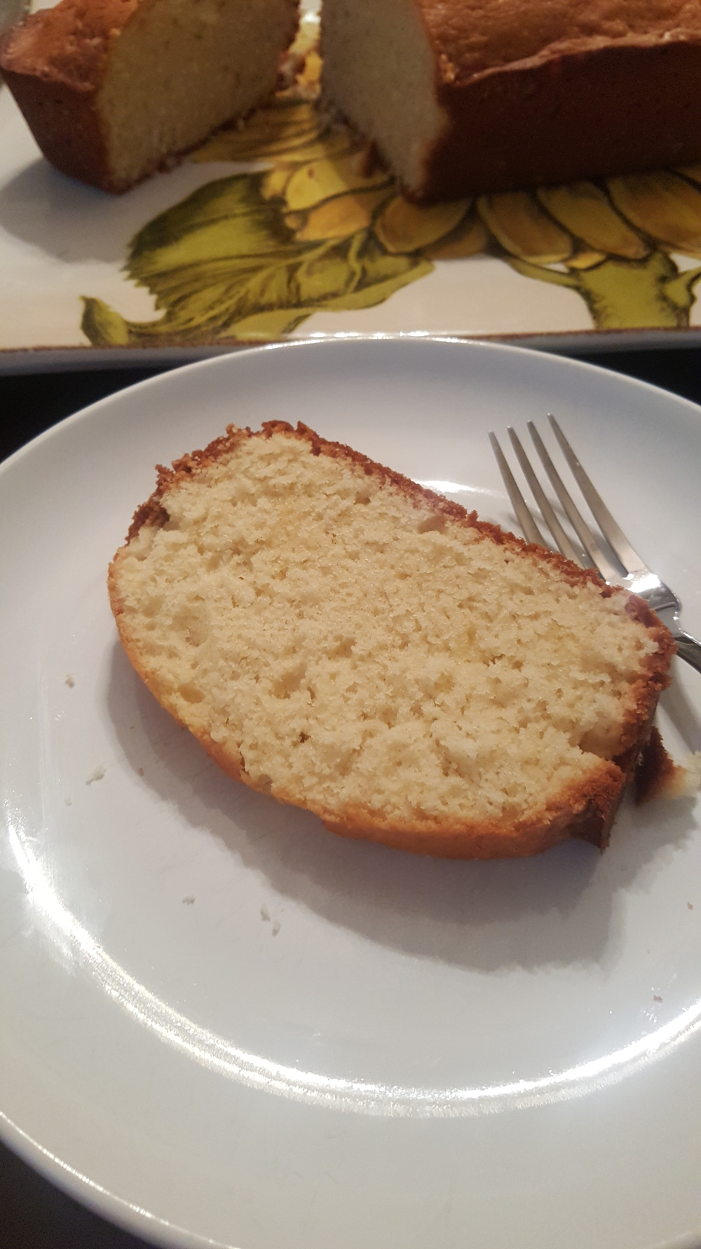 Slice of Perfect Pound Cake
