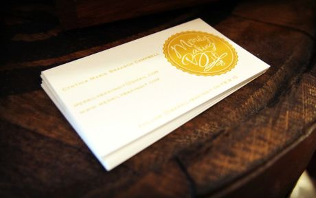 Business cards for all!